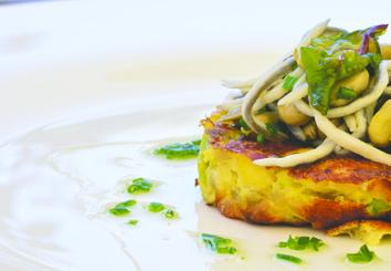 Foto Receta tortilla cremosa de aguacate Trops y cebolla tierna