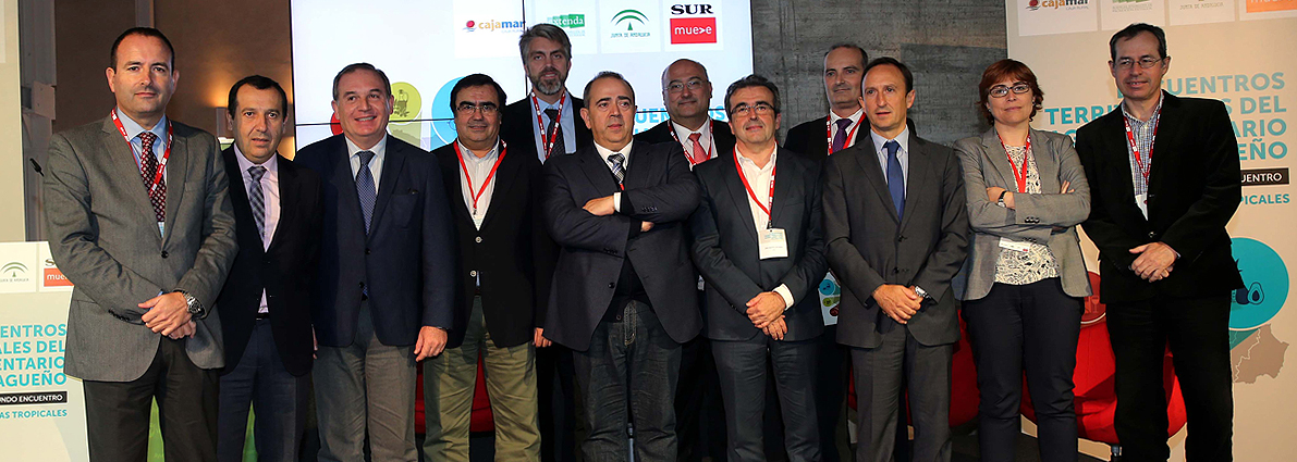 Ponentes del II Encuentro Territorial del Agroalimentario Malagueño