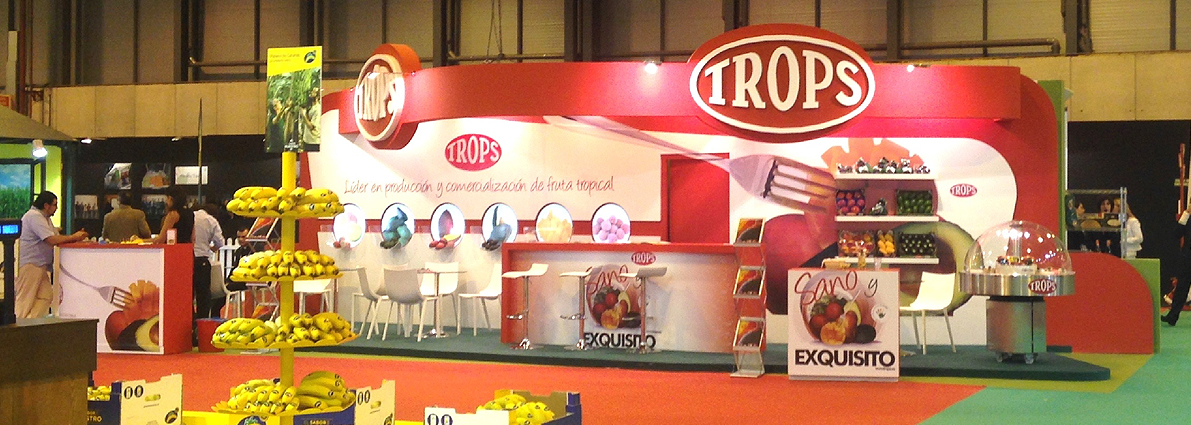 Stand Trops 2014 fruit attraction