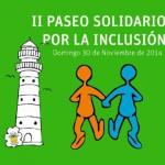 Cartel II Paseo Solidario por la Inclusión Social ANNE