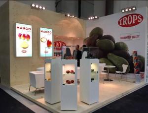 Stand Trops en Fruit Logística 2015