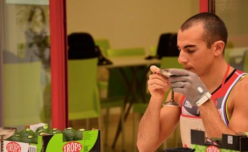 Rubén Ruzafa con Trops