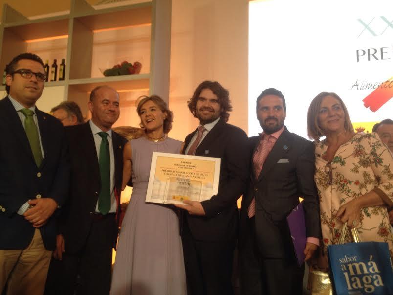 Premios al mejor aceite de España