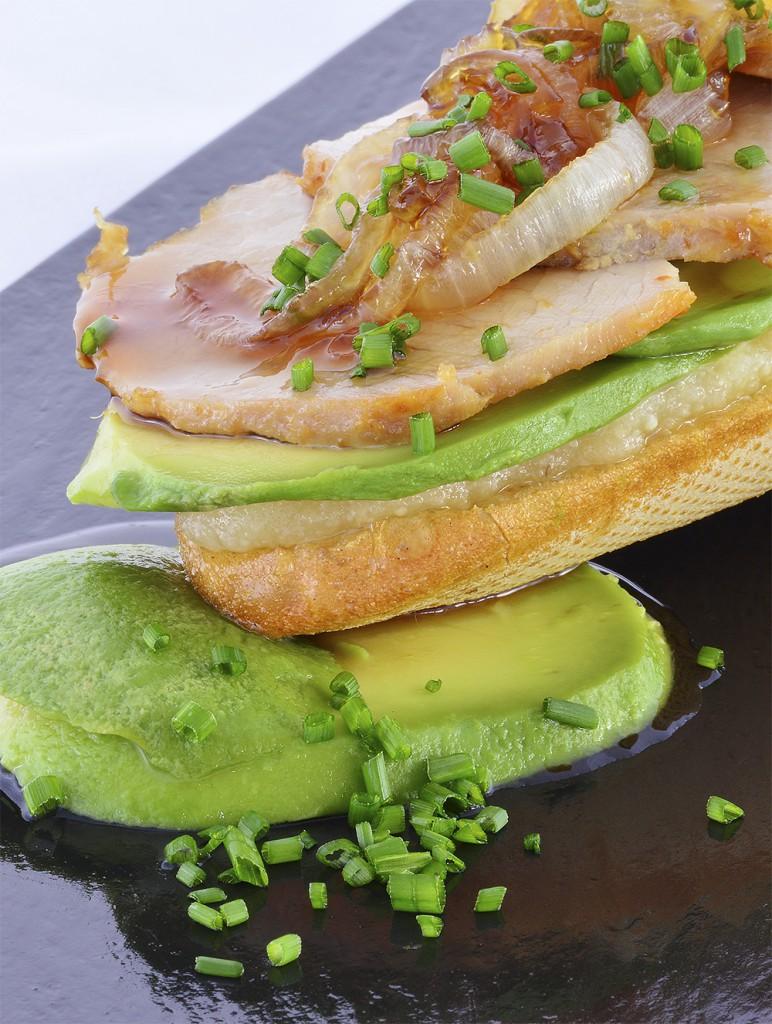 Tosta sin Gluten de Ajoblanco y Aguacate_Recetas Trops large