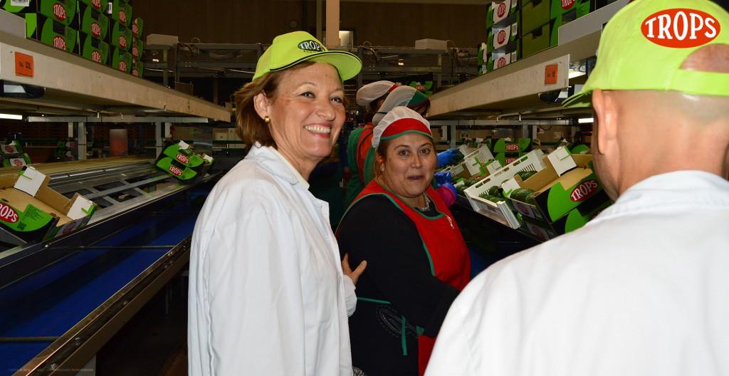070 - Visita Consejera Agricultura Junta Andalucía Trops
