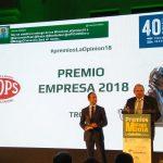 TROPS, PREMIO EMPRESA 2018 POR LA OPINIÓN DE MÁLAGA