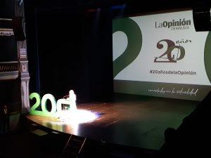 TROPS en el XX aniversario de La Opinión de Málaga