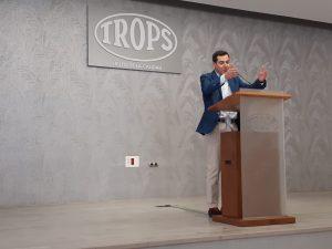 Visita del Presidente de la Junta de Andalucía a TROPS