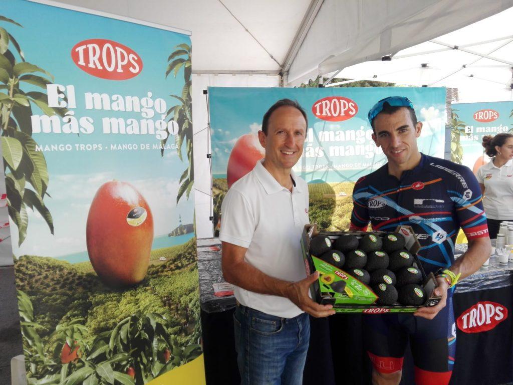 Enrique Colilles, CEO de TROPS, junto a Rubén Ruzafa