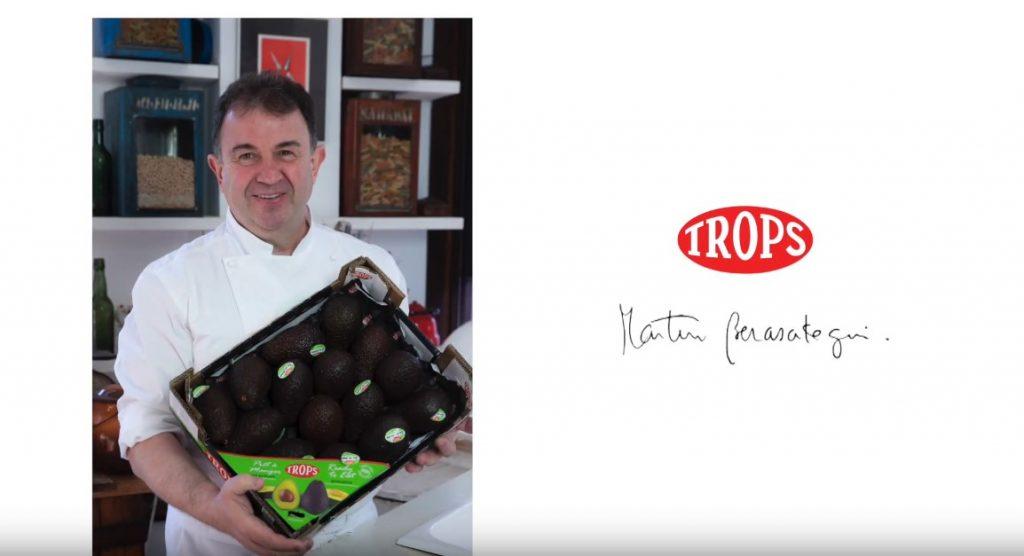 Los aguacates TROPS en la cocina de Martín Berasategui