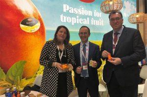Visita de la Consejera de Agricultura, Ganadería, Pesca y Desarrollo Sostenible de la Junta de Andalucía, Carmen Crespo a nuestro stand en Fruit Logística 2020